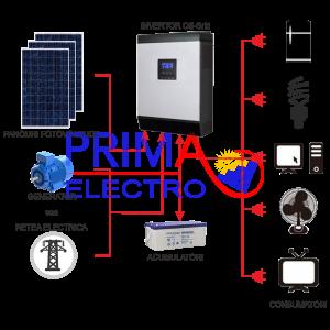 Off-grid pv installations
